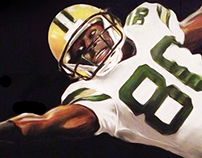 Packers (Charcoal / Pastels)
