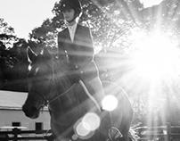 Kylie Wilkens, equestrian artist