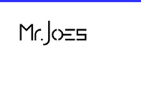 identity & web design: Mr.Joes