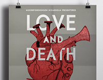 Concert poster: Love and Death