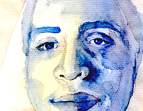 un rostro, multiples técnicas