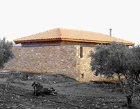 Self energy sufficient  bioclimatic residence Crete