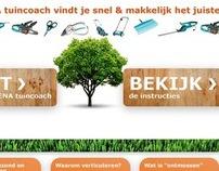 GARDENA | Tuincoach Website