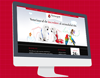 Hemopet - Veterinary Clinic and Blood Bank Website