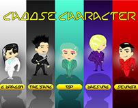 "Game Interface Design - ""Bigbang's Fantastic Dream"""