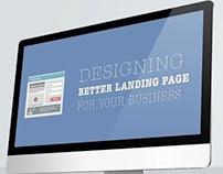 Keynote Design - Designing Landing Page