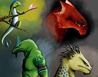 . . . reptile's pride . . .