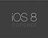 iOS 8 Icons Concept Design