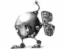 Mario Enemies - Bob-Omb