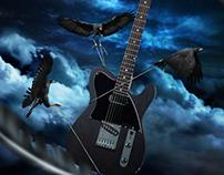 J-Hawk Guitar Ad - Sublime Guitar Company
