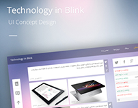 Technology in Blink UI Concept Design