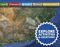Facebook : Interactive Activities Map