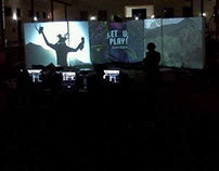Projection Mapping & Multimedia Happenning