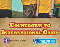 Countdown to International Camp - Scouting Ireland