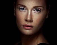 In to dark portraits  2012