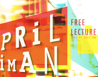 April Greiman Lecture Poster