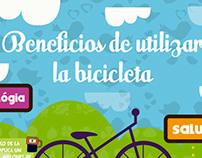 Beneficios de utilizar la bicicleta