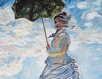 Girl with a Parasol