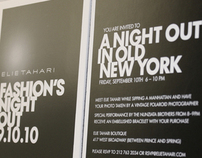 FASHION'S NIGHT OUT CAMPAIGN