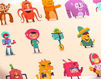 :::Hopscotch characters:::