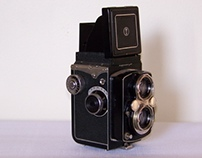Yashica D project