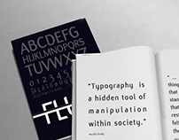 Typographic Book - Flux Font