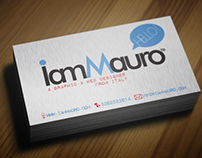 Businss Card | I AM MAURO