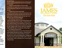 James Funeral Home Brochure