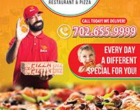 Boca Pizza Flyer