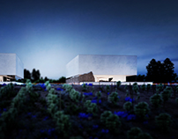 ARCHITECTURAL CONCEPT OF VINEYARD IN REQUENA (SPAIN).