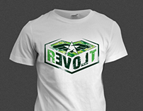 Revolt t-shirt design