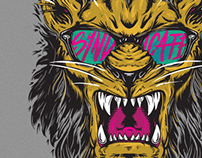 "Syndicate ""Riot Lion"" Tee Art"