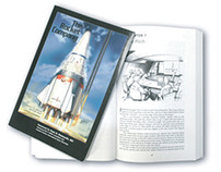 """The Rocket Company"" book cover & chapter illustrations"