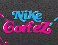 Nike Cortez Splat Edition