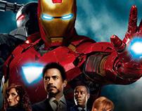 Iron Man 1, 2 y 3