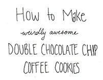 Weirdly Awesome Cookies - A Comic & Recipe