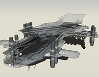 Lost Project: Flying Aircraft Carrier VTOL