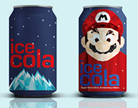 Mario Cola Can - Packaging Design