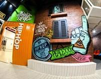 hiphop gang interior design