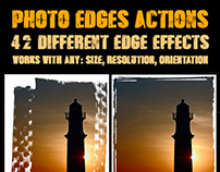 Photo Edges Actions for Photoshop
