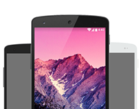 Nexus 5 Mockup Pack [Free]