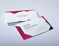 Business Cards - Creative Polygon Vision