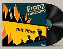 Franz Ferdinand -This Fffire Album Cover