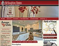 Website Design - McNaughton Homes