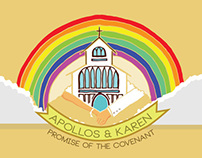 Apollos & Karen's Rainbow Wedding
