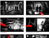 Uncharted 3 Storyboards