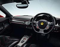 Ferrari 458 italia Novitec Rosso Interior