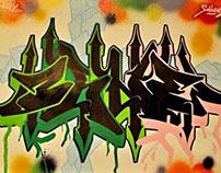 """""""Grafflife of O`shne"""" exhibiton"""