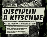 Disciplin A Kitschme - Poster Design