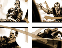 BioShock Infinite Storyboards